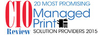 Top 20 Managed Print Solution Companies - 2015